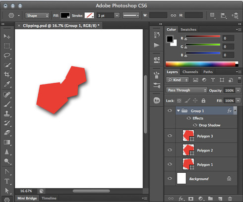 how to bring layer in front photoshop