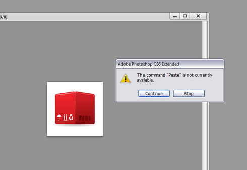 Photoshop CS6: Actions do not work properly, while