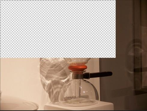 Photoshop CS6: seeing random blocks of transparency on document