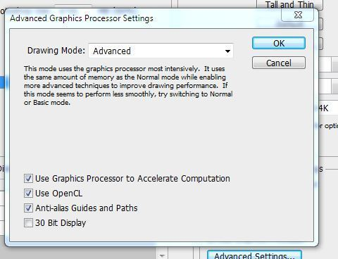 Photoshop CS6: Intel HD4000 Dual Monitor Configuration loses