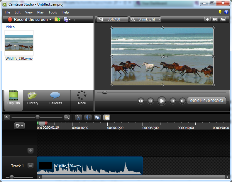 how to make camtasia run faster