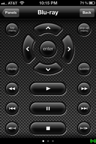 D-pad on iPhone