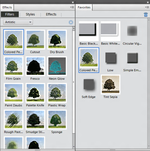 how to add filters photoshop