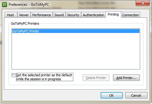 how to install printer on go to my pc
