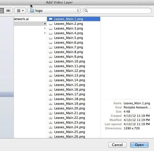 Images Sequence option missing in Photoshop CS6 for Mac