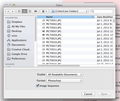 how to open photoshop cs6 on mac