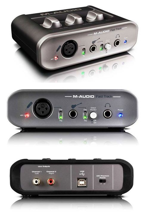 Audio Fast Track Ultra also M Audio Fast Track likewise Recording ...